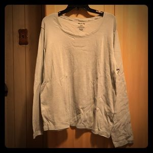 Silver Light Sweater Size XL